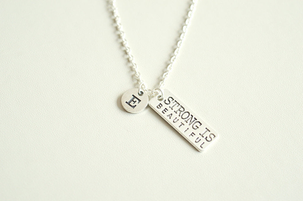 Strong is Beautiful Necklace - YouLoveYouShop