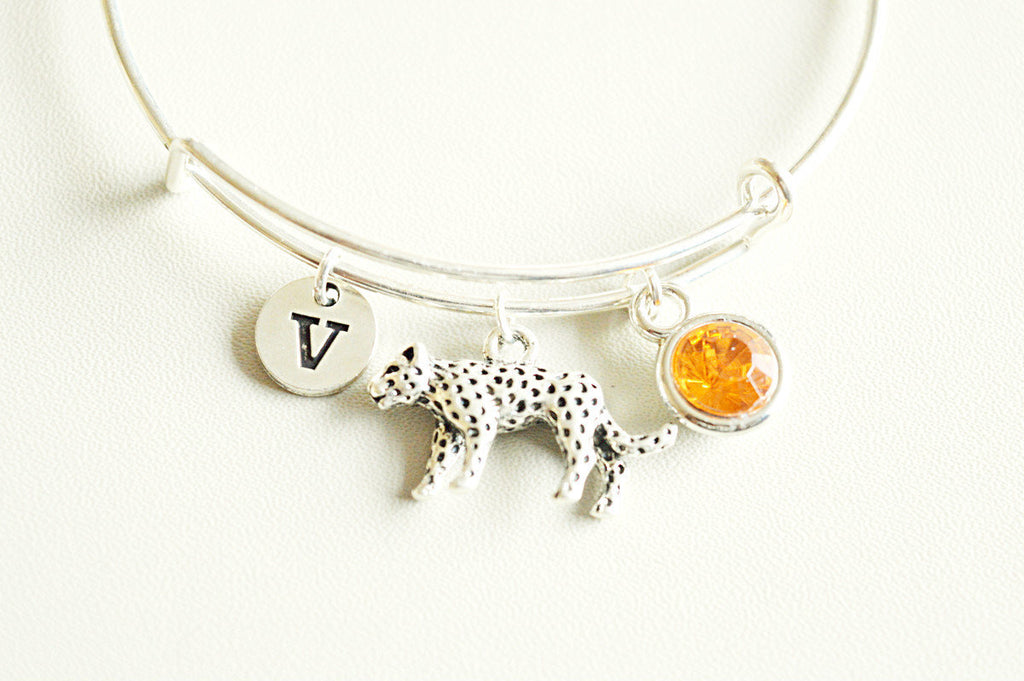 Jaguar Bracelet, Jaguar Gifts, Jaguar Jewellery, Jaguar Charm, Silver Jaguar, Jaguar Personalized, Birthday gift, Friend, Animal, Kids