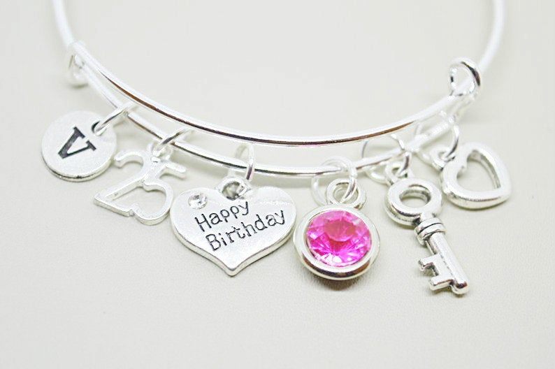 25th Birthday Bracelet