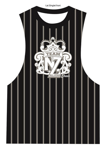 Team NZ Lat Singlet 2018/2019