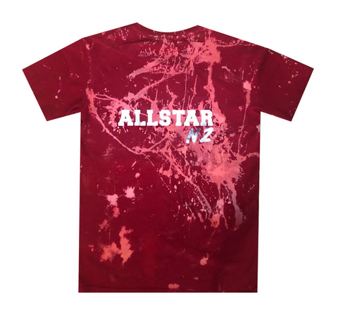 All Star Design (Back of tee)