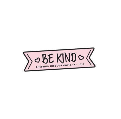 Cheer Pin - Be Kind