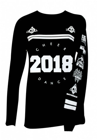 Long Sleeve- 2018 Cheer Dance