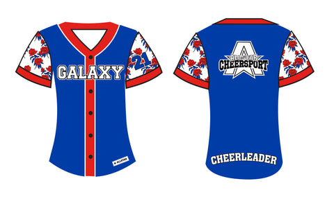 Galaxy Baseball Shirt 2021