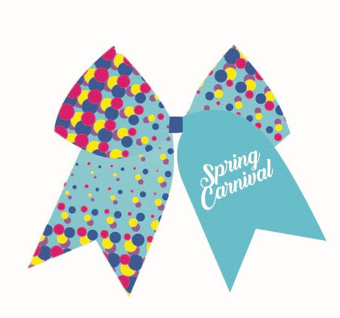 Competition Bow- Spring Carnival