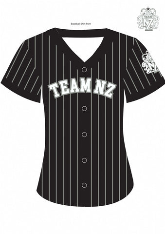Team NZ BaseBall Shirt 2018