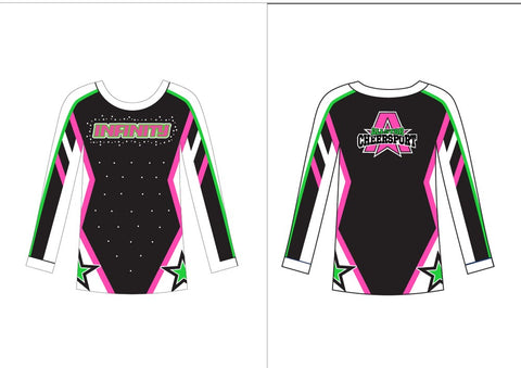 Infinity Cheersport Uniform 2019