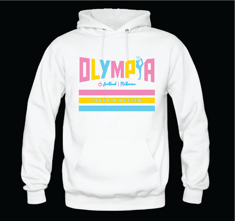 Olympia Hoodie White