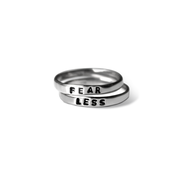 Fear Less Ring Stack