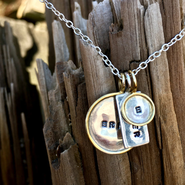 Large Framed Disc Charm