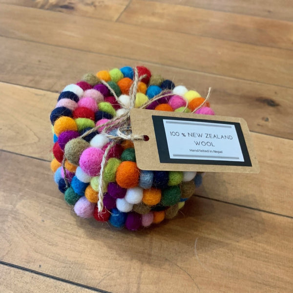 Felt Ball Coaster sets