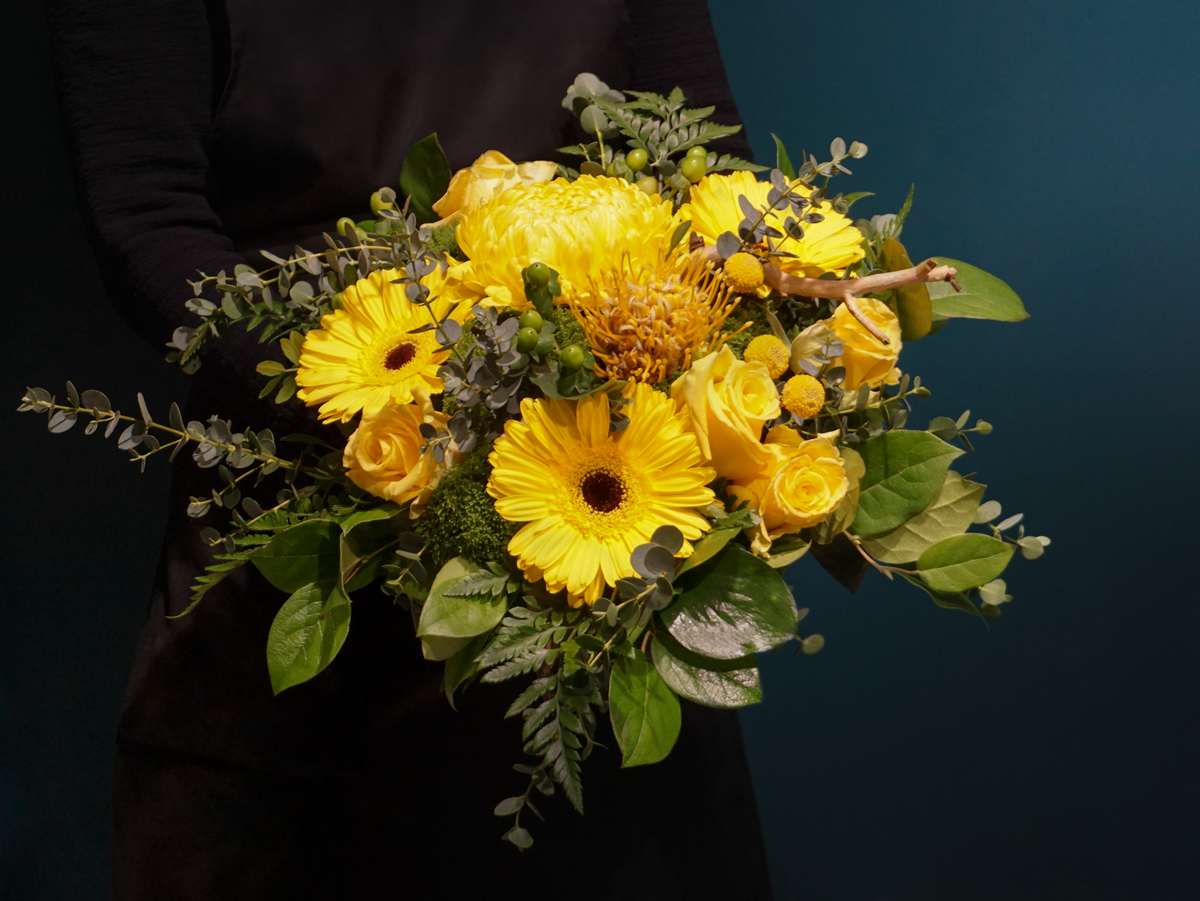 Bouquet of flowers with gerberas / 06 /