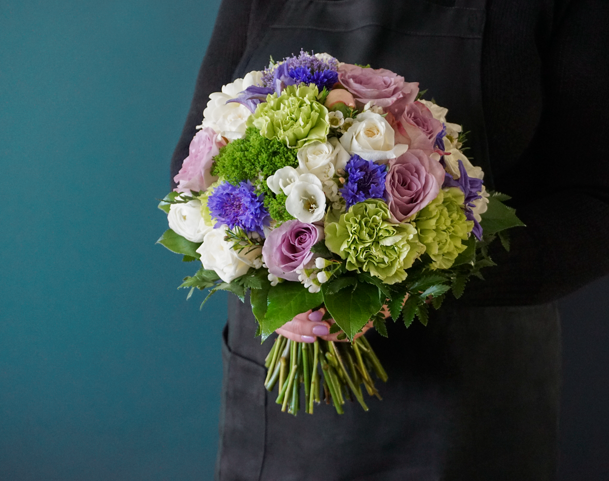 Bouquet of different flowers / 01 /