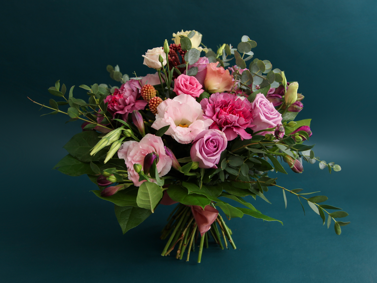 Bouquet of different flowers / 04 /