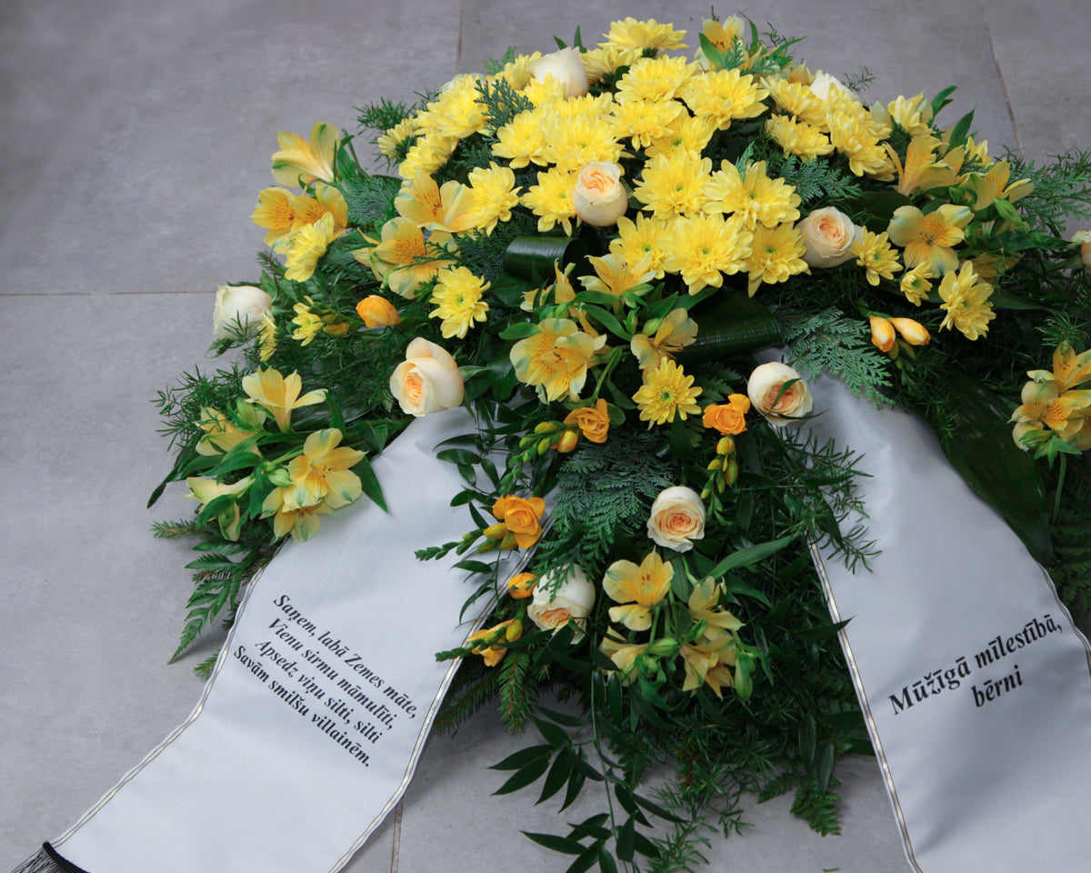 Funeral wreath / 16 /