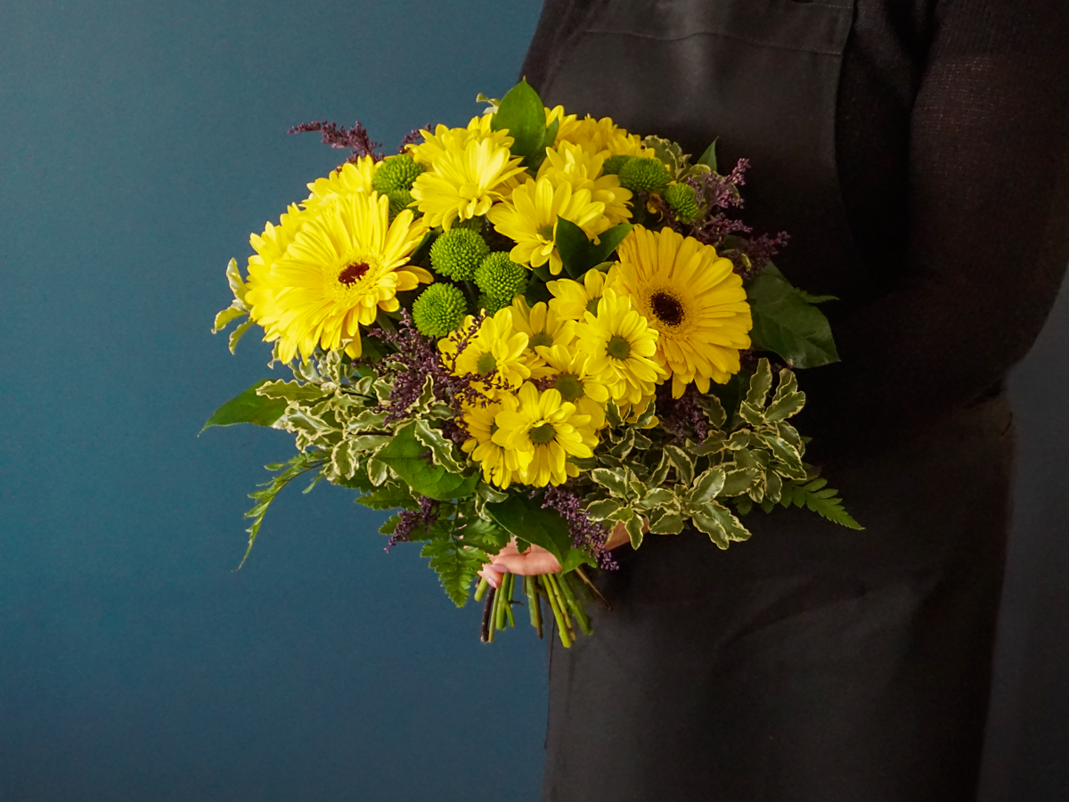 Bouquet of flowers with gerberas / 03 /