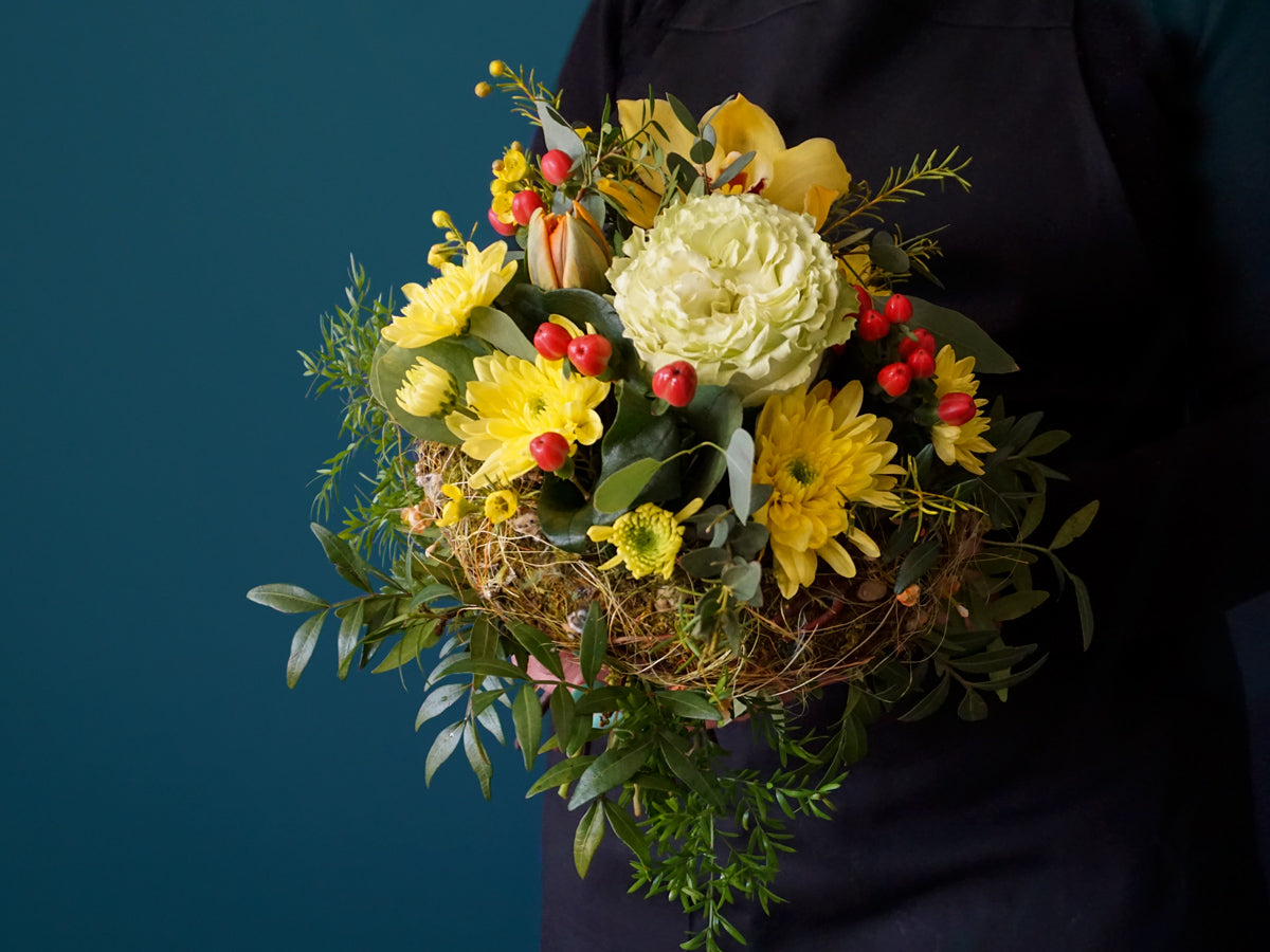 Bouquet of different flowers / 11 /