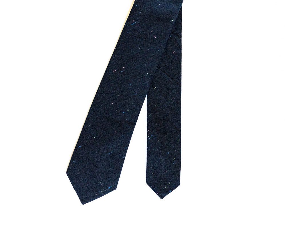 Pitch Navy Blue Tie
