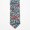 Part Coloured Floral Tie