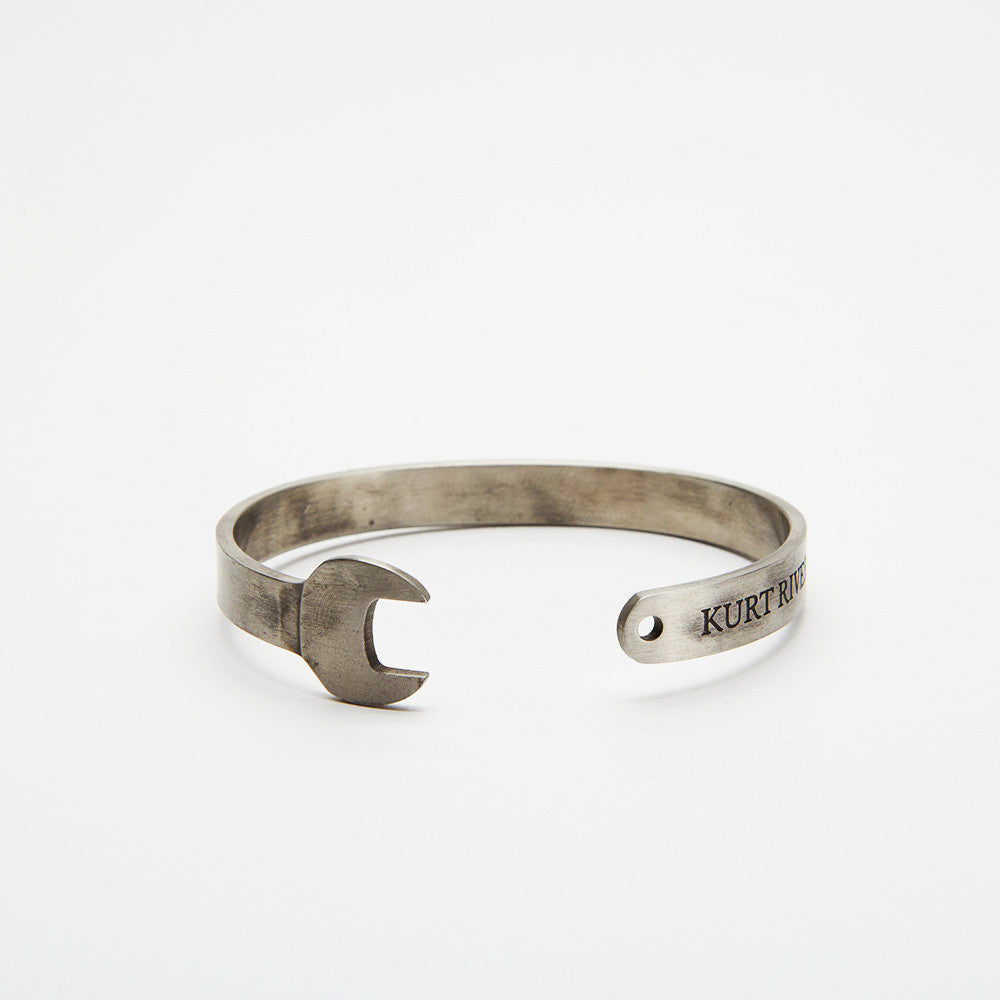 Silver Wrench Cuff