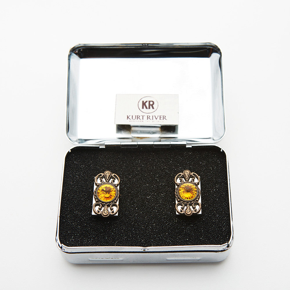 Tigers Eye Cufflinks