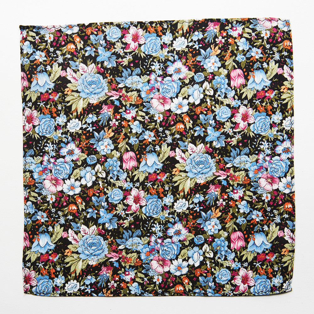Aero Floral Pocket Square