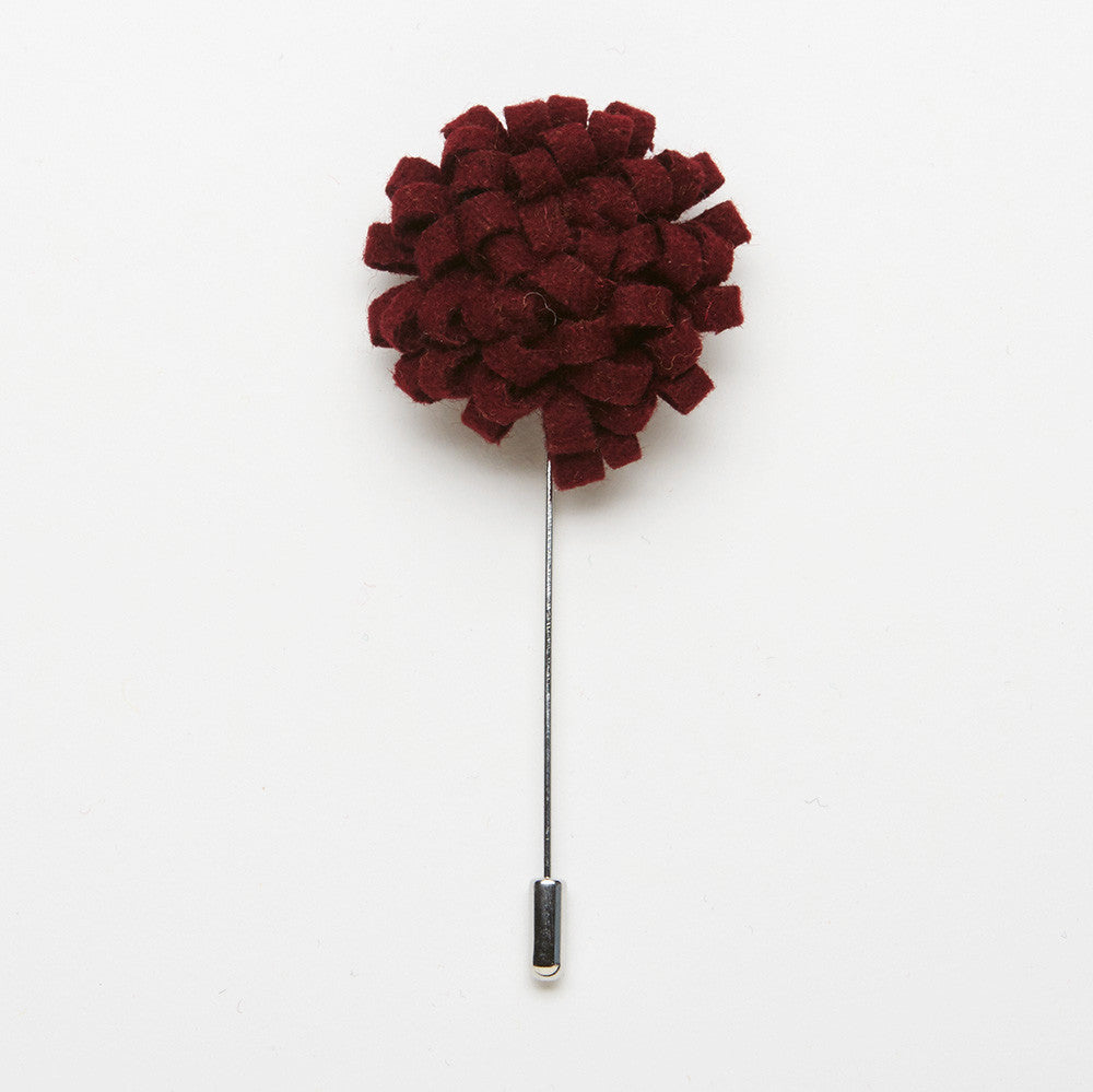 Barn Red Dandelion Pin