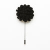 Black Dandelion Pin