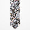 Grey Greenhouse Floral Tie