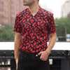 Black N' Red Short Sleeve Shirt