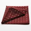 Red Dot Pocket Square