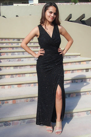 Black Long Formal Gown - Black Long Evening Dress