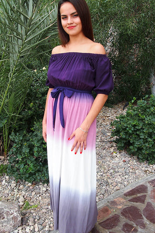 Low Price Off The Shoulder Dress - Dresses Under $50 - Affordable Maxi Dress