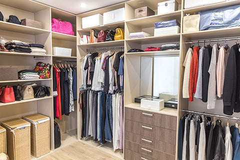 Organized Closet - Organize Your Closet While In Quarantine