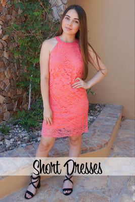 Boutique Short Dresses - Women's Mini Dresses