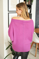Double The Fun Magenta Off The Shoulder Top 2