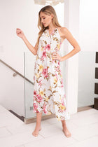 Everlasting Bliss Mint Floral Print Maxi Dress 3