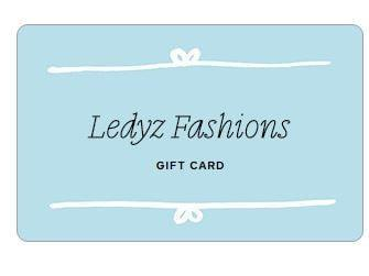 Gift Card - Ledyz Fashions Boutique
