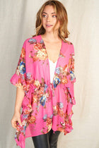 Get Inspired Pink Floral Kimono 4