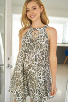 Hear Me Roar Cheetah Print Dress 4