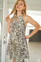 Hear Me Roar Cheetah Print Dress 3