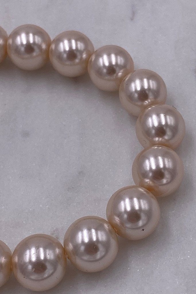 Illuminate The Night Nude Pearl Stretch Bracelet 3