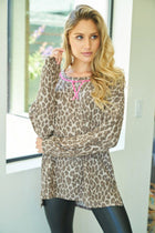 Love Of My Life Leopard Print Pullover 3