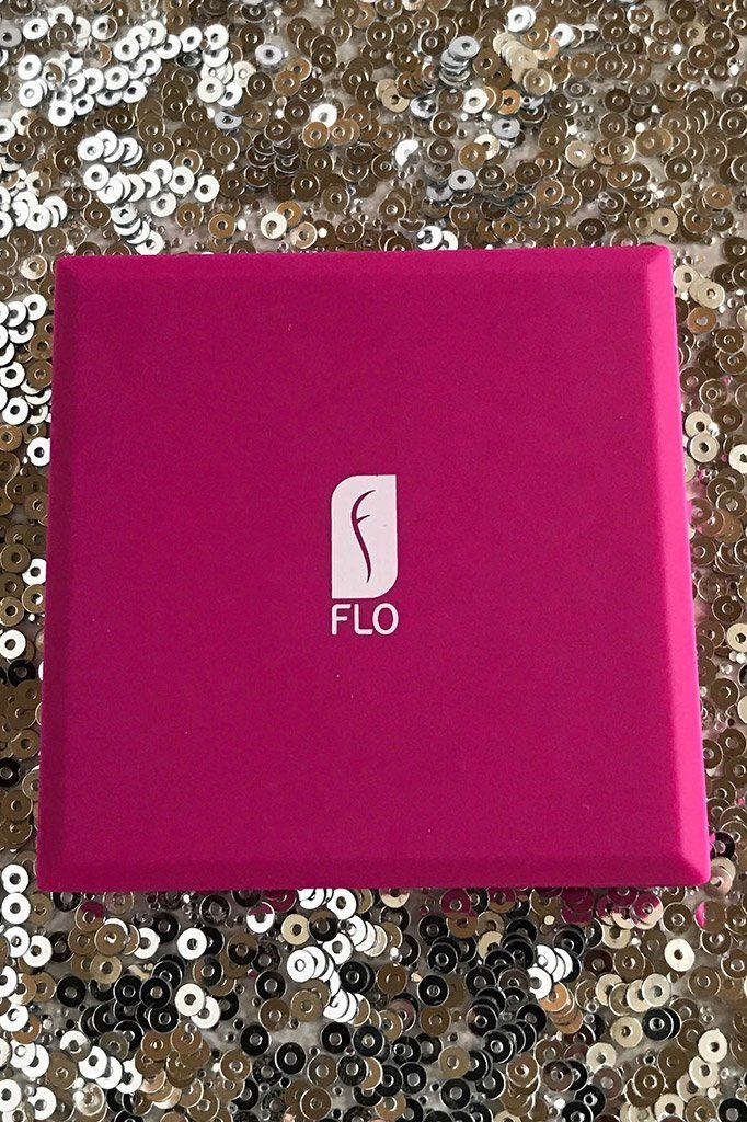 Pink Flo Led Lights Compact Mirror 2
