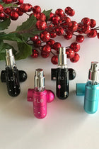 Refillable Fuchsia Pink Crystal 5ml FLO Travel Perfume Atomizer 2