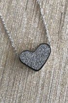 Sacred Silver Heart Perfume Necklace 4