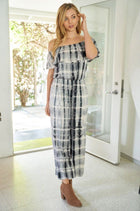 Something Special Off The Shoulder Tie Dye Jumpsuit 4