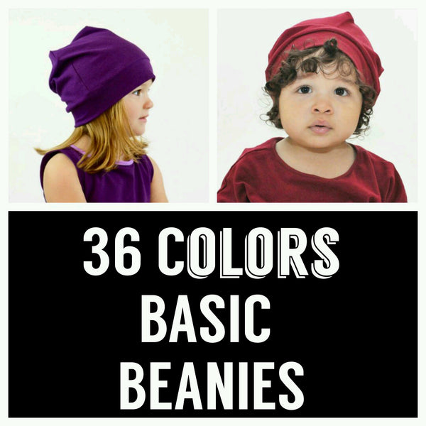 Beanies, 36 Colors