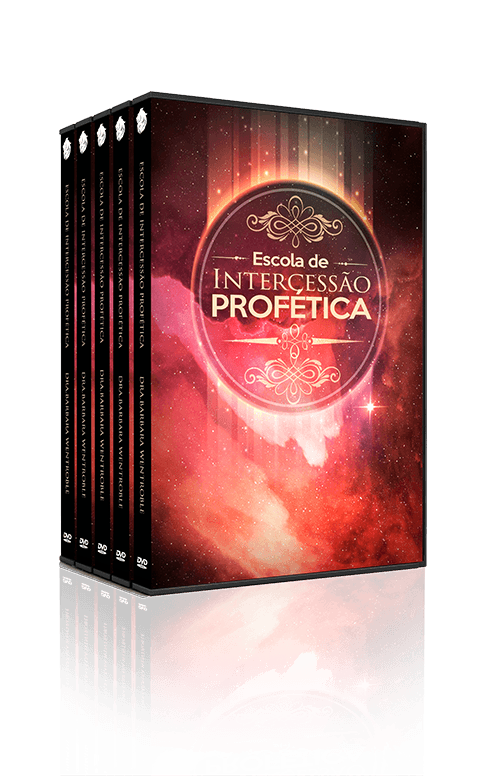 Escola de Intercessão Profética, 03 Dvds