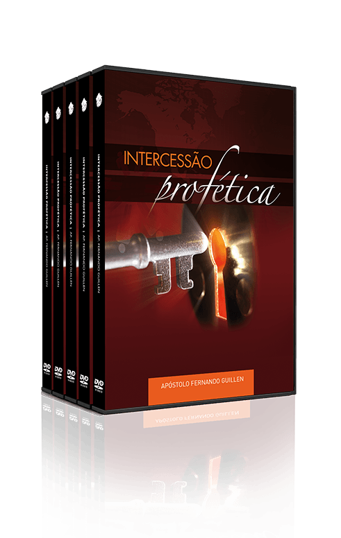 Intercessão Profética, 10 Dvds